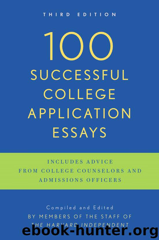 application college essay real