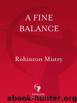 thesis on rohinton mistry