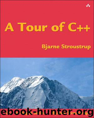 A Tour of C++ (C++ In-Depth Series) by Stroustrup Bjarne