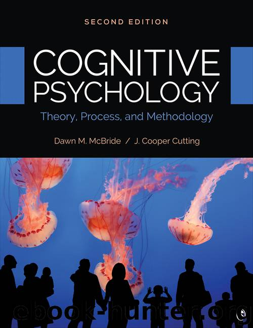 Cognitive Psychology. Second Edition by Dawn M. McBride & J. Cooper Cutting