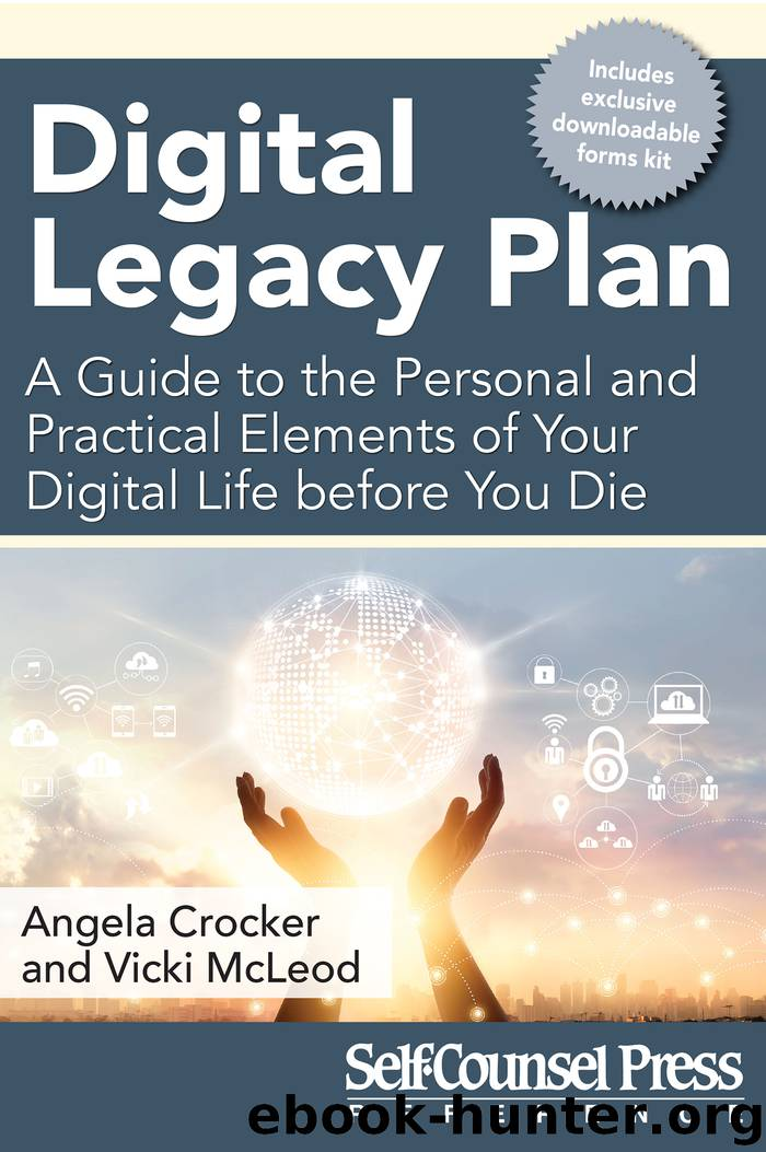Digital Legacy Plan by Angela Crocker & Vicki Mcleod