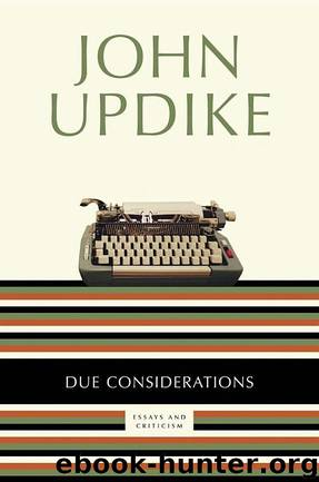 aa by john updike essay Write an argumentative essay interpreting how the content of a text advances its theme a&p by john updike i also need outline by tomorrow night.