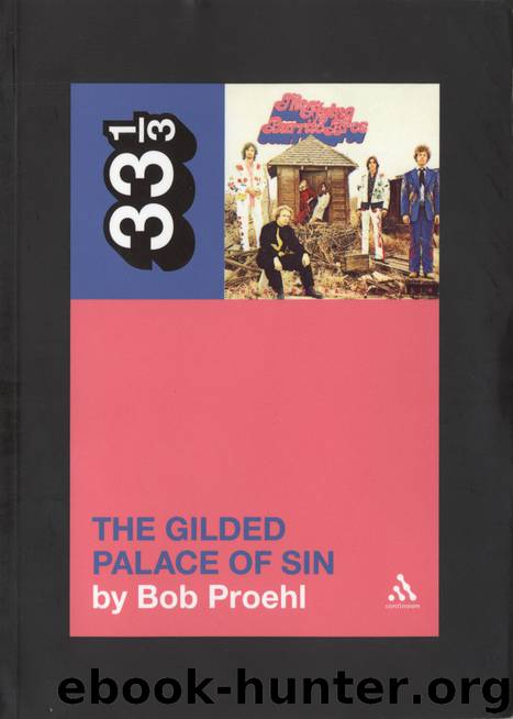 Flying Burrito Brothers' The Gilded Palace of Sin by Proehl Bob