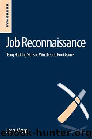 Job Reconnaissance by More Josh & Beth Friedman