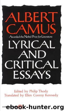 critical essay lyrical