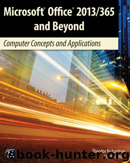 Microsoft office 2013365 and beyond computer concepts and microsoft office 2013365 and beyond computer concepts and applications by richardson theodor thies charles fandeluxe Gallery