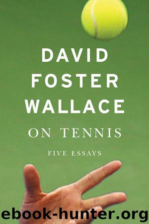 essay by david foster wallace Writer john jeremiah sullivan revisits david foster wallace's tennis sullivan described the federer essay that david foster wallace: an appreciation by david.