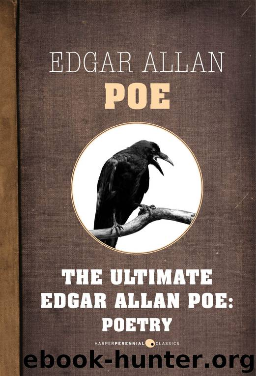 an overview of the poetry by edgar allan poe
