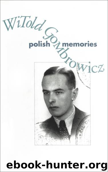 Polish Memories by Witold Gombrowicz & Bill Johnston free ebooks