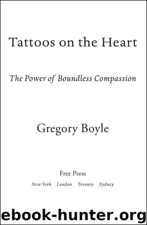 """ìtattoos on the heart,î by gregory boyle essay By tara pugliese even before the first day of school at flintridge sacred heart academy we were offered a taste of the school's values over the summer, we were assigned to read """"tattoos on the heart: the power of boundless compassion"""" by father greg boyle."""