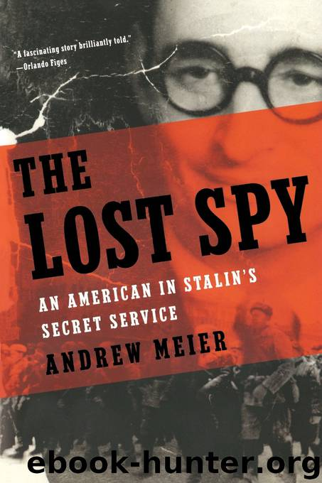 The Lost Spy by Andrew Meier