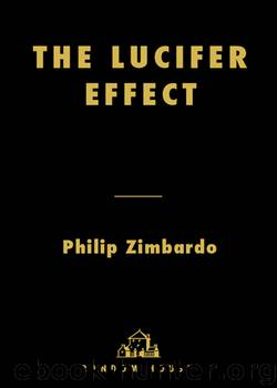 lucifer effect summary The lucifer effect quotes (showing 1-30 of 33) sticks and stones can break your bones, but names can kill you ― philip zimbardo, the lucifer effect: understanding how good people turn evil.