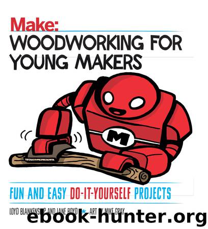 Woodworking for Young Makers by Loyd Blankenship