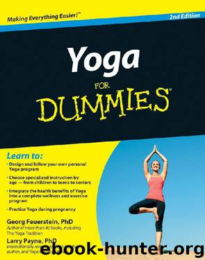 Yoga For Dummies by Georg Feuerstein